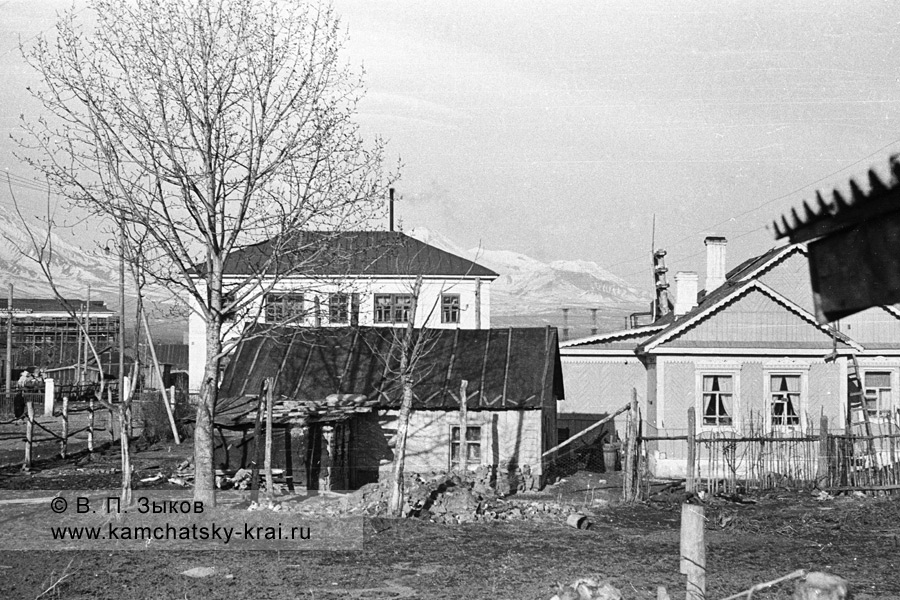 Улица Вилюйская в городе Елизово