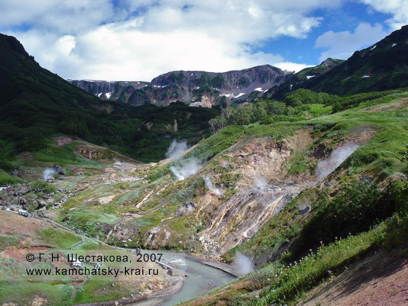 Долина гейзеров, Кроноцкий заповедник