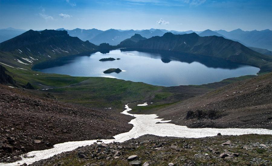 Вулкан Хангар (сопка Хангар)