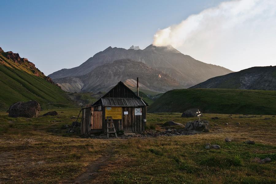 Вулкан Безымянный (Bezymianny Volcano)