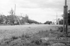 Улица Ленина в городе Елизово