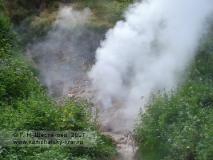 Гейзер Великан в Долине гейзеров
