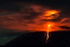 Извержение вулкана Ключевская Сопка (Klyuchevskaya Sopka)