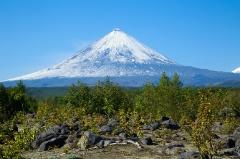 Камчатский исполин — вулкан Ключевская сопка
