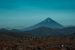 Вулкан Опала (сопка Опала)