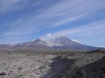 Действующий вулкан Шивелуч (Shiveluch Volcano)