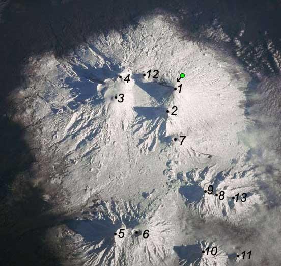 вулканов схема вулканов